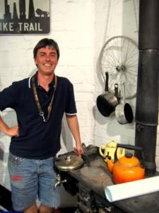 Austin, at Belfast Bicycle Workshop