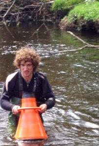 Conor in the River
