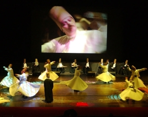 Whirling Dervishes in action